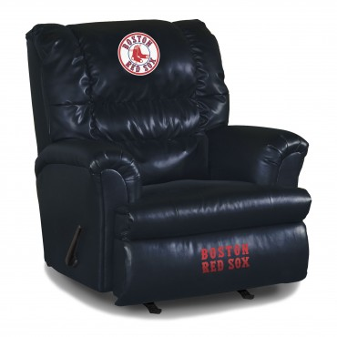 Mlb Leather Big Daddy Recliner Pool Tables R Us