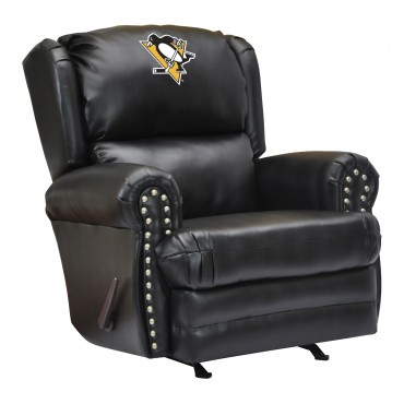 Nhl Leather Coach Recliner Pool Tables R Us