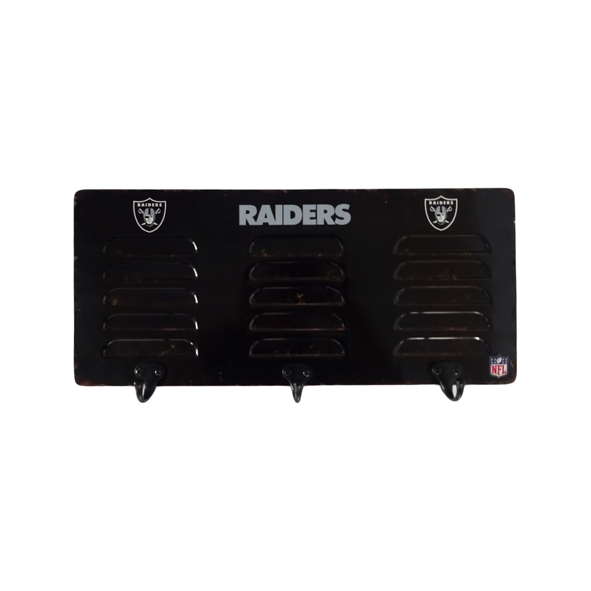 Nfl 3 Hook Metal Locker Coat Rack Pool Tables R Us