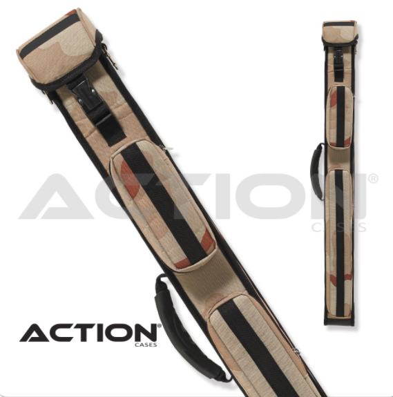 Action camo 2x3 hard cue case pool tables r us - Action pool cue cases ...